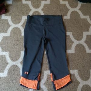 EUC Under Armour Fly By Compression Running Capri